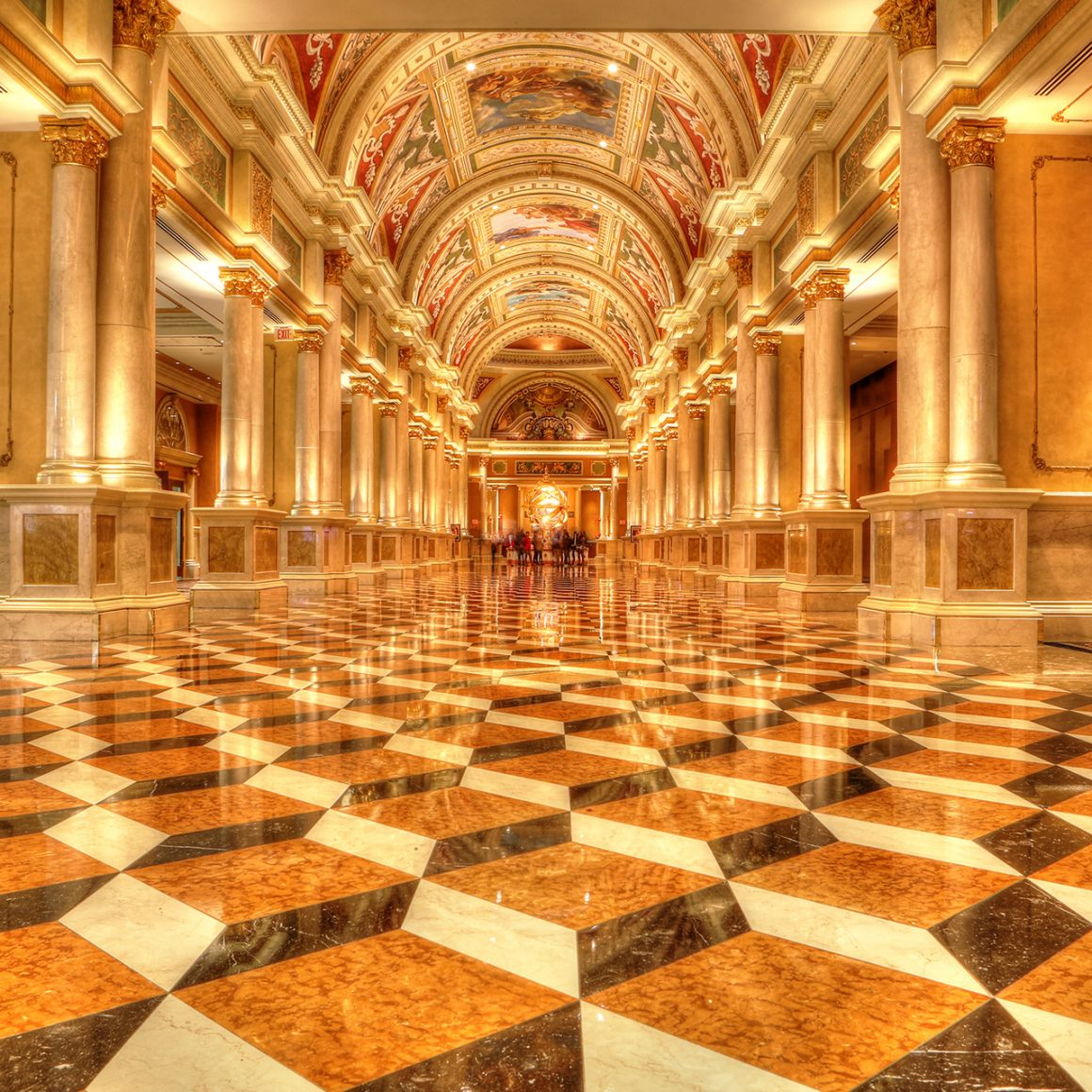 Interior, The Venetian, Las Vegas