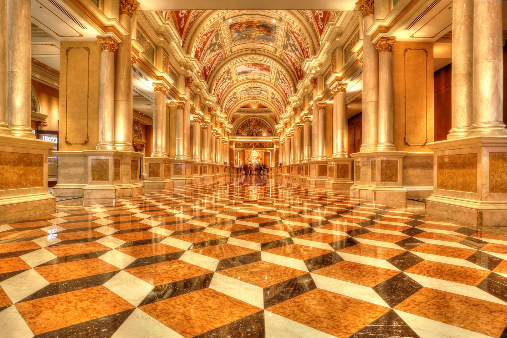 Interior The Venetian Las Vegas